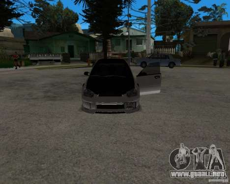 Subaru Impreza (exclusive) para la visión correcta GTA San Andreas