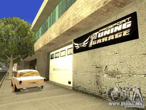 [HD] red de garajes mijuego Autos para GTA San Andreas sucesivamente de pantalla