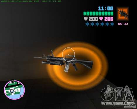 M-16 de Scarface para GTA Vice City