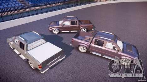 Chevrolet S10 para GTA 4 ruedas