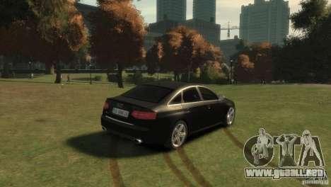 Audi RS6 v.1.1 para GTA 4 Vista posterior izquierda