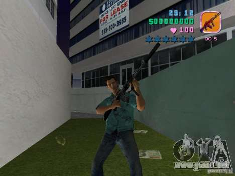 AK-103 para GTA Vice City tercera pantalla