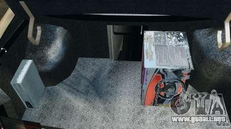 Vaz-21103 v1.0 para GTA 4 vista desde abajo