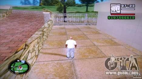 HUD by Mr.Shadow para GTA San Andreas segunda pantalla