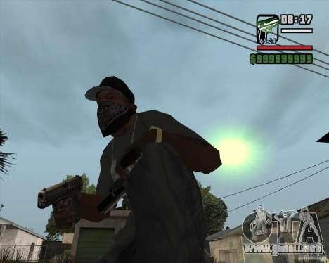 9mm x 19 para GTA San Andreas segunda pantalla