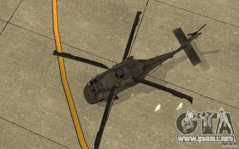 UH-80 para visión interna GTA San Andreas