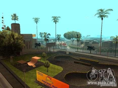 New SkatePark para GTA San Andreas segunda pantalla