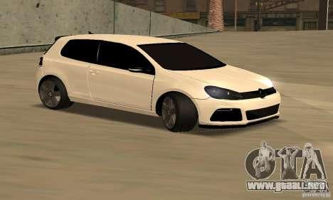 Volkswagen Golf R Modifiye para GTA San Andreas left