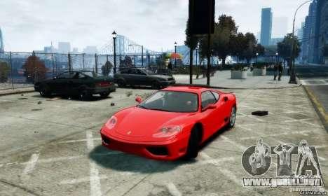 Ferrari 360 modena para GTA 4 left