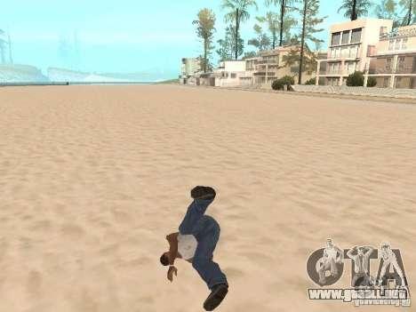 Parkour 40 mod para GTA San Andreas tercera pantalla