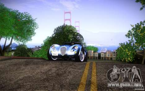 Wiesmann MF3 Roadster para GTA San Andreas left