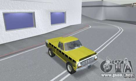 Dodge Prospector 1984 para visión interna GTA San Andreas