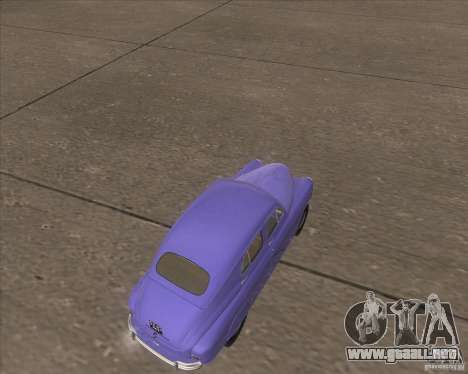 GAZ M72 para la visión correcta GTA San Andreas