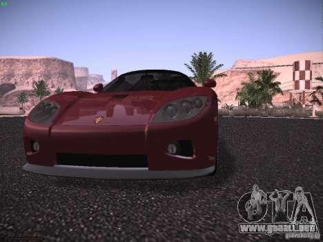 Koenigsegg CCX 2006 para vista inferior GTA San Andreas