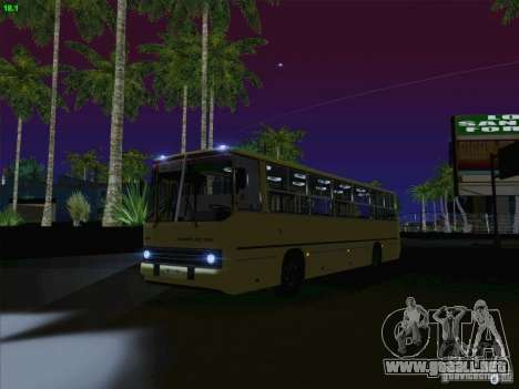 IKARUS 260 Letonia para visión interna GTA San Andreas