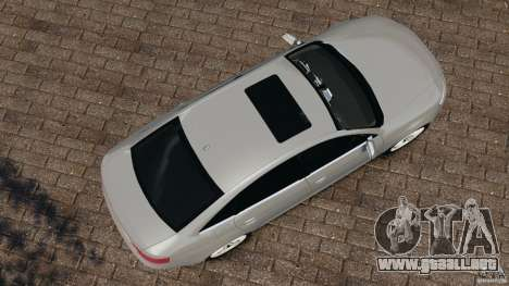 Audi RS6 2010 v1.1 para GTA 4 visión correcta