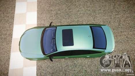 Audi RS6 2009 para GTA 4 visión correcta