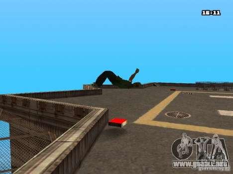 Parkour Mod para GTA San Andreas undécima de pantalla