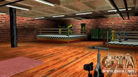 Gimnasio para GTA San Andreas tercera pantalla