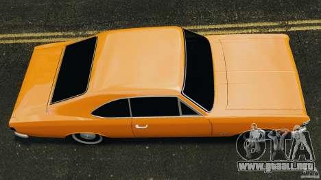 Chevrolet Opala Gran Luxo para GTA 4 visión correcta