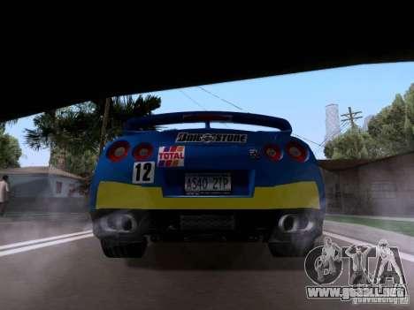 Nissan GTR 2010 Spec-V para GTA San Andreas left
