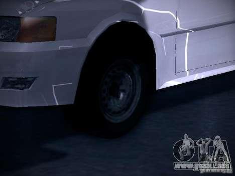 Toyota Chaser 100 para GTA San Andreas vista hacia atrás