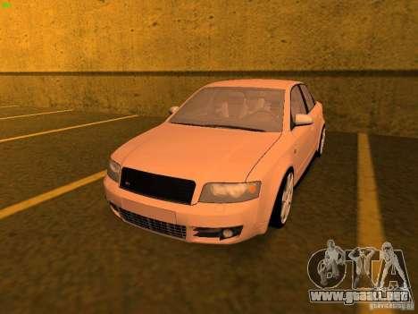 Audi S4 OEM para GTA San Andreas