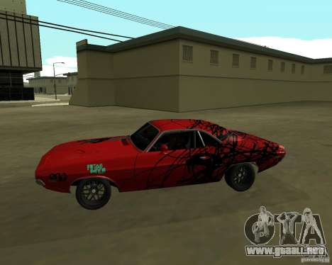 Dodge Challenger 1971 TeamGo para GTA San Andreas left
