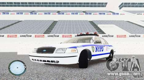Ford Crown Victoria 2003 NYPD para GTA 4