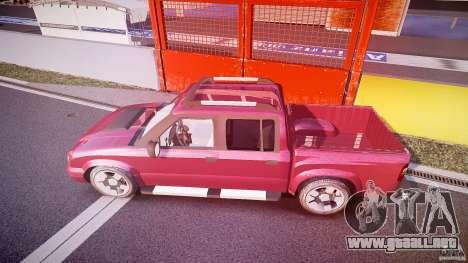 Chevrolet S10 para GTA 4 interior