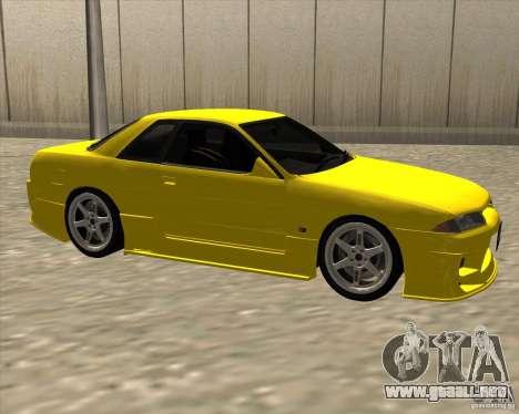 Nissan Skyline R32 Bee R para la visión correcta GTA San Andreas