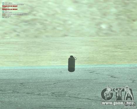 [Point Blank] WP Smoke para GTA San Andreas tercera pantalla