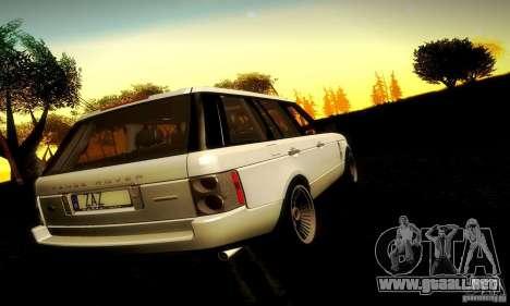 Range Rover Supercharged para visión interna GTA San Andreas