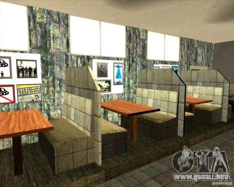 Nuevas muestras de Lil taberna para GTA San Andreas segunda pantalla