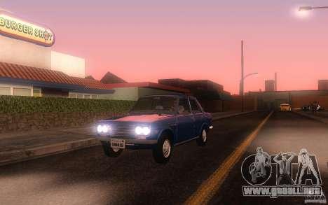 Datsun 510 4doors para GTA San Andreas left