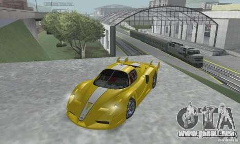 Ferrari FXX para visión interna GTA San Andreas