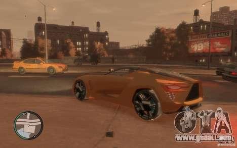 Bertone Mantide para GTA 4 left