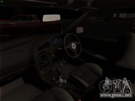 Mitsubishi Lancer Evolution VI para vista inferior GTA San Andreas