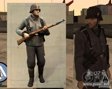 Unteroficer de la Wehrmacht para GTA San Andreas