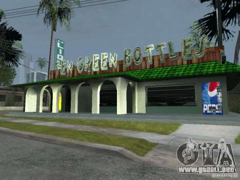 Máquinas expendedoras de Pepsi y planta para GTA San Andreas tercera pantalla