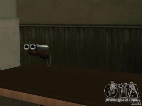 Pak versión doméstica armas 2 para GTA San Andreas séptima pantalla