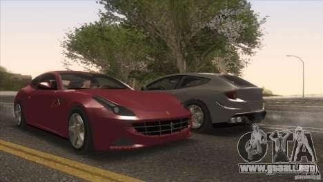 Ferrari FF 2011 V1.0 para las ruedas de GTA San Andreas