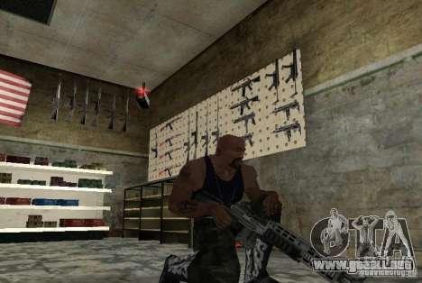 M14 EBR desde el Killing Floor para GTA San Andreas segunda pantalla