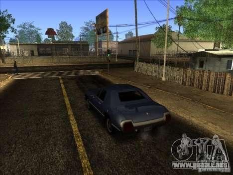 ENBseies v 0.075 para los equipos débiles para GTA San Andreas segunda pantalla