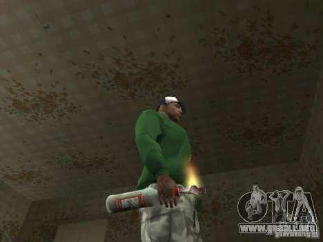 Pak domésticos armas V2 para GTA San Andreas sexta pantalla