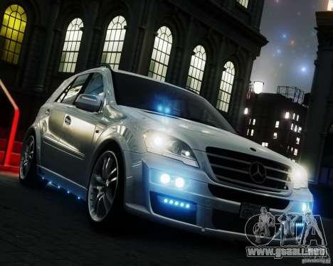 Mercedes-Benz ML Brabus 2009 para GTA 4 visión correcta