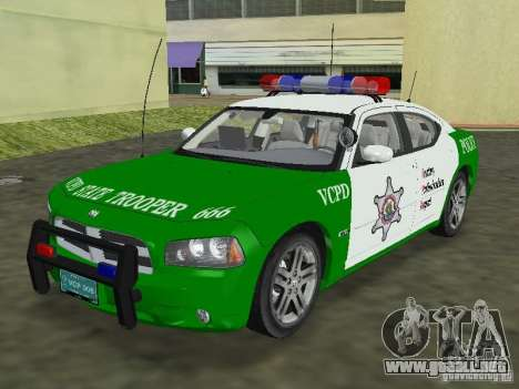 Dodge Charger Police para GTA Vice City