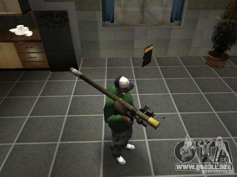 Pak domésticos armas V2 para GTA San Andreas