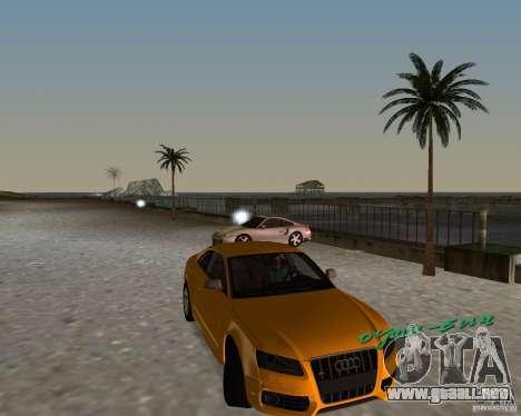 Audi S5 para GTA Vice City