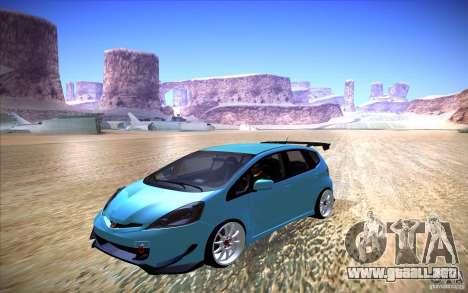 Honda Fit para la visión correcta GTA San Andreas